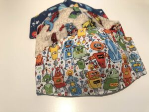 Mascarillas de tela con bolsillo para niños