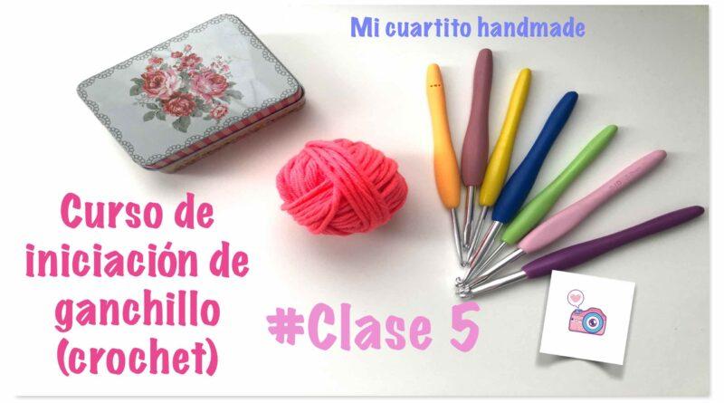 Clase#5: GANCHILLO para PRINCIPIANTES. Punto DESLIZADO, AUMENTOS y DISMINUCIONES. Curso CROCHET Fácil.✂️🧶