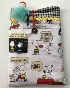 Foto 2 funda tablet snoopy