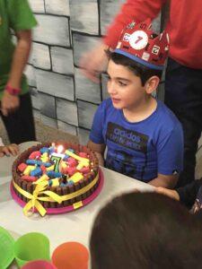 Foto cumpleaños niño 7 años