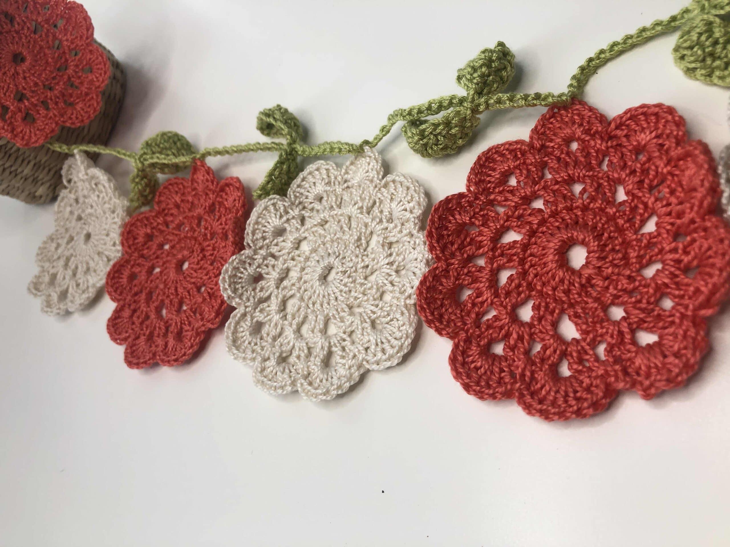 Flores de ganchillo o crochet