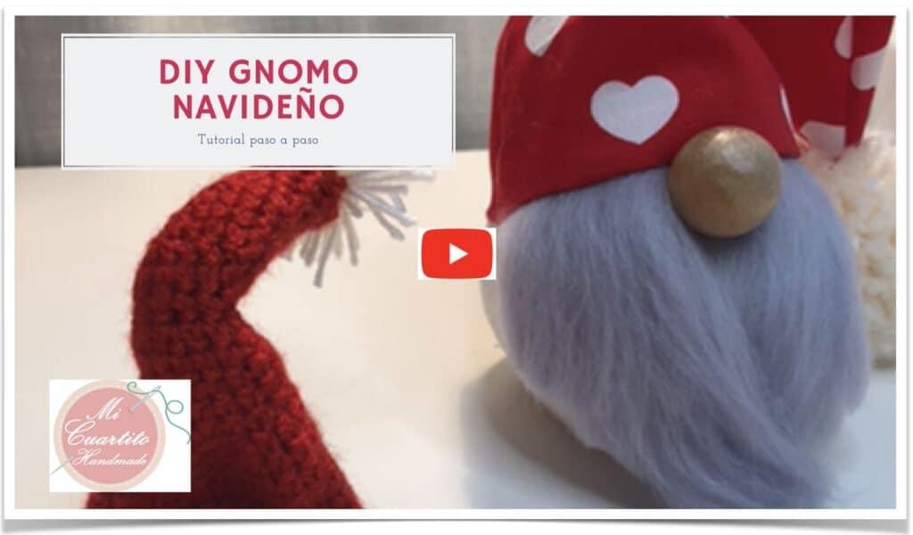 Gnomo navideño DIY