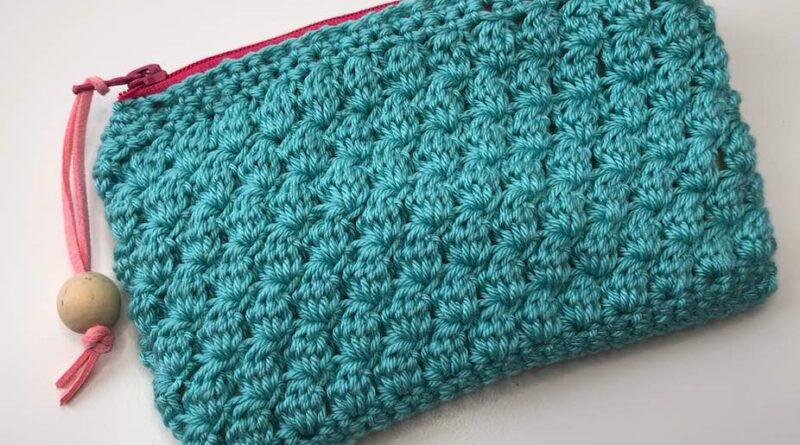 clase 7 monedero punto piña ganchillo crochet